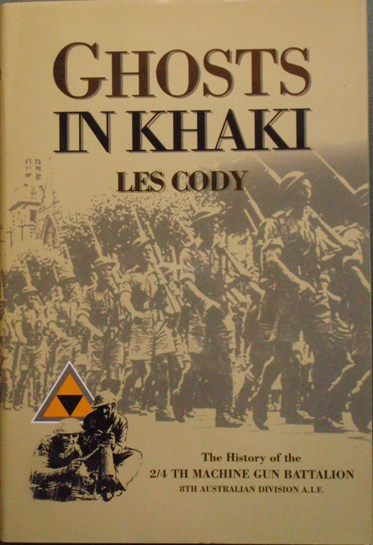 GHOSTS IN KHAKI - The History of the 2/4th Machine Gun Battalion 8th Australian Division AIF