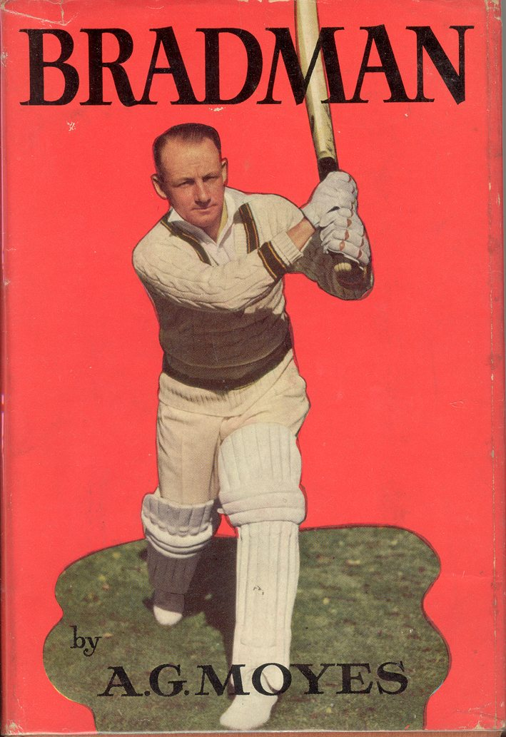 BRADMAN   - SIGNED by DONALD BRADMAN on full page frontispiece -