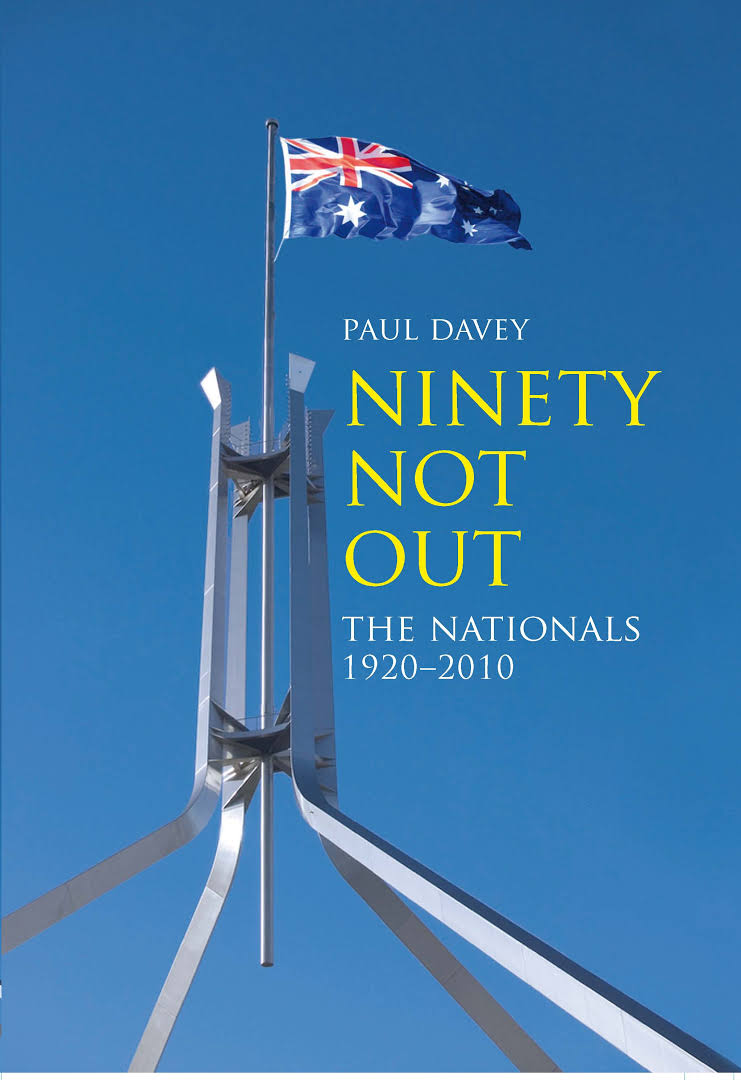 NINETY NOT OUT - The Nationals 1920 - 2010 - - AUTHOR SIGNED - -